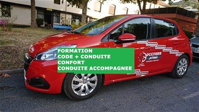 Formation CODE + CONDUITE CONFORT - Permis conduite accompagnée (AAC)