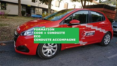Formation CODE + CONDUITE ECO - Permis conduite accompagnée (AAC)