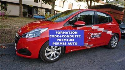Formation CODE + CONDUITE PREMIUM - Permis auto (B)